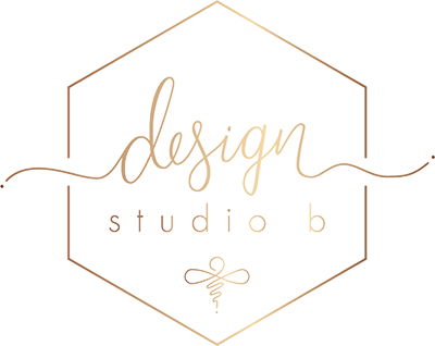 Design Studio B Logo Gold